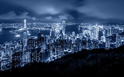 Skyline / Victoria Peak, Hong Kong