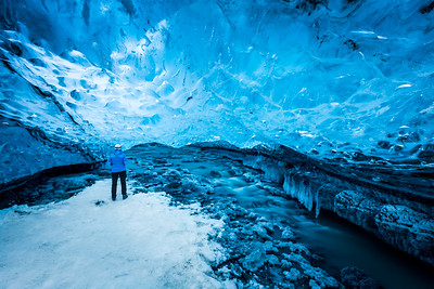 Ice cave / Jökulsárlón, Iceland