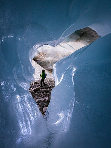 Ice Cave / Zinal, Switzerland