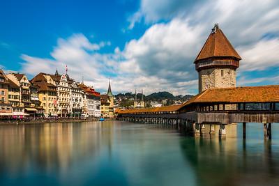 Streaky clouds / Lucerne, Switzerland