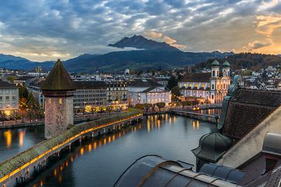 Signature shot / Lucerne, Switzerland