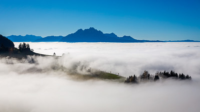 Autumn inversion / Küssnacht, Switzerland