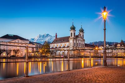 Jesuitenkirche / Lucerne, Switzerland