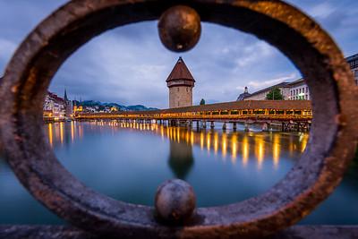 Looking thru / Lucerne, Switzerland
