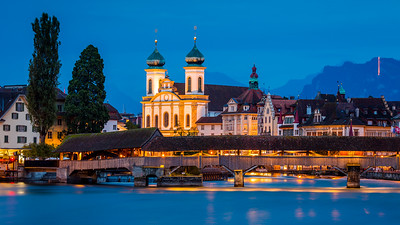 Spreuer bridge / Lucerne, Switzerland