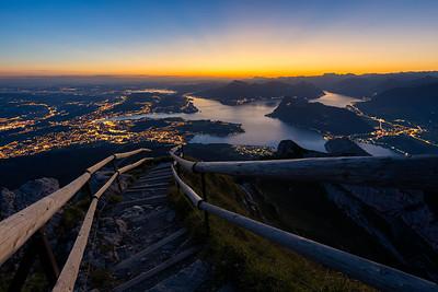 Pilatus Glow / Lucerne, Switzerland