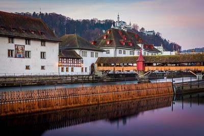 Spreuer bridge / Lucerne, Switzerland