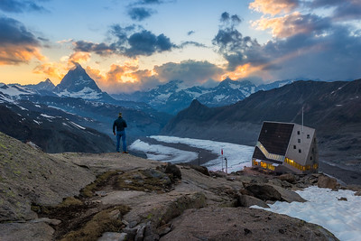 Matterhorn sunset / Zermatt, Switzerland