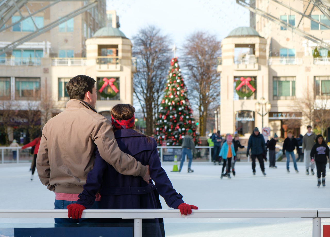 The holidays at Reston Town Center