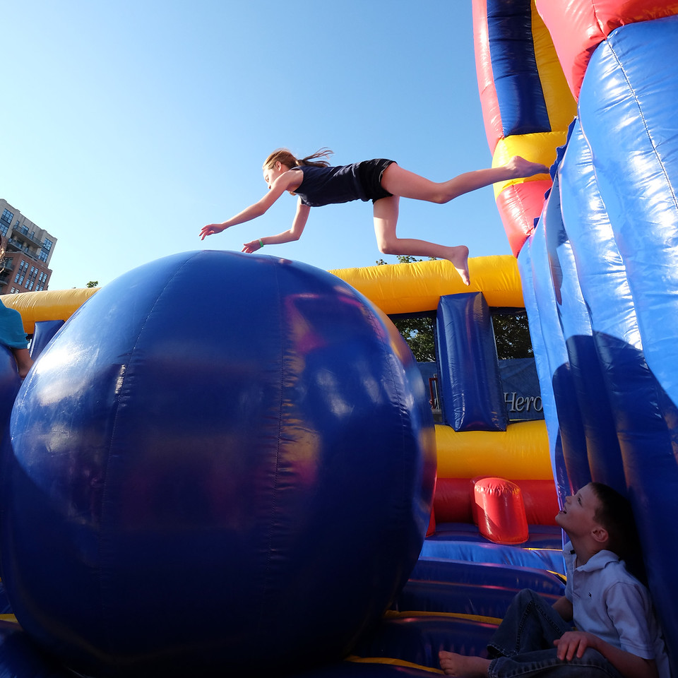 Obstacle course at the World Police and Fire Games