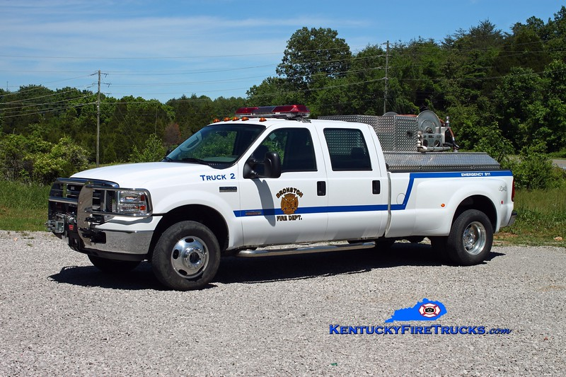 <center> Bronston Brush 2 <br> 2009 Ford F-350 4x4/Pro Poly 250/250 <br> Kent Parrish photo </center>