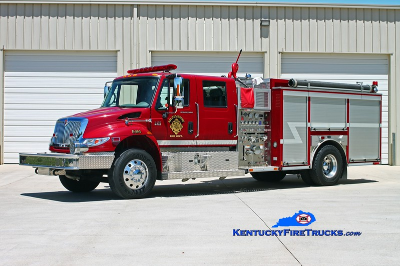 <center> Burnside  Engine 24 <br> 2006 International 4400/E-One 1250/1000/30 <br> Kent Parrish photo </center>