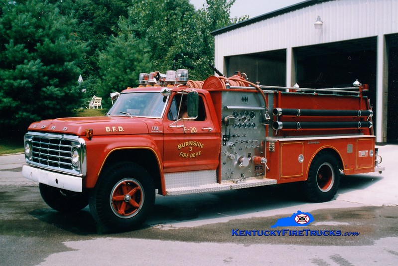 <center> RETIRED <br> Burnside  Engine 20 <br> 1976 Ford F/Jaco 750/750 <br> Greg Stapleton photo </center>