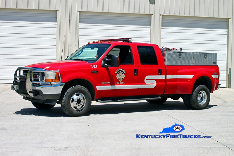 <center> Burnside  Brush 23 <br> 2003 Ford F-350 4x4/UPF 250/250 <br> Kent Parrish photo </center>
