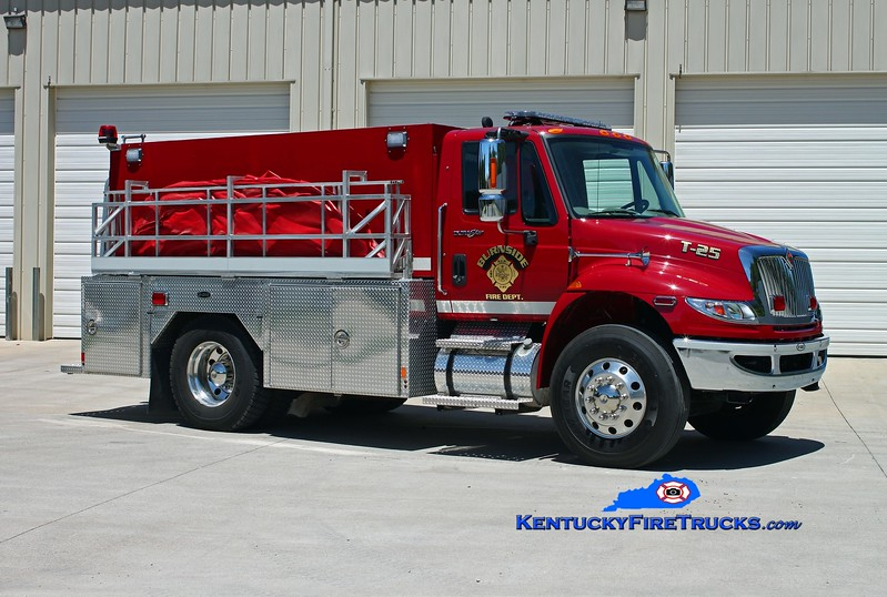 <center> Burnside  Tanker 25 <br> 2012 International 4900/E-One 500/2000 <br> Kent Parrish photo </center>