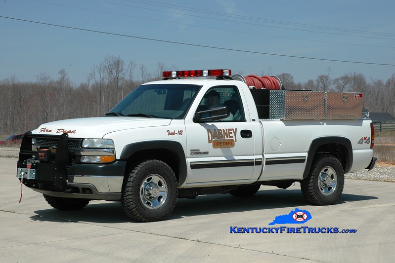 <center> Dabney  Brush 142 <br> 2001 Chevy 3500 4x4/Darley 250/250 <br> Greg Stapleton photo <br> </center>