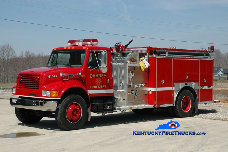 <center> Dabney  Engine 140 <br> 2001 International 4900/E-One 1250/1000 <br> Greg Stapleton photo <br> </center>