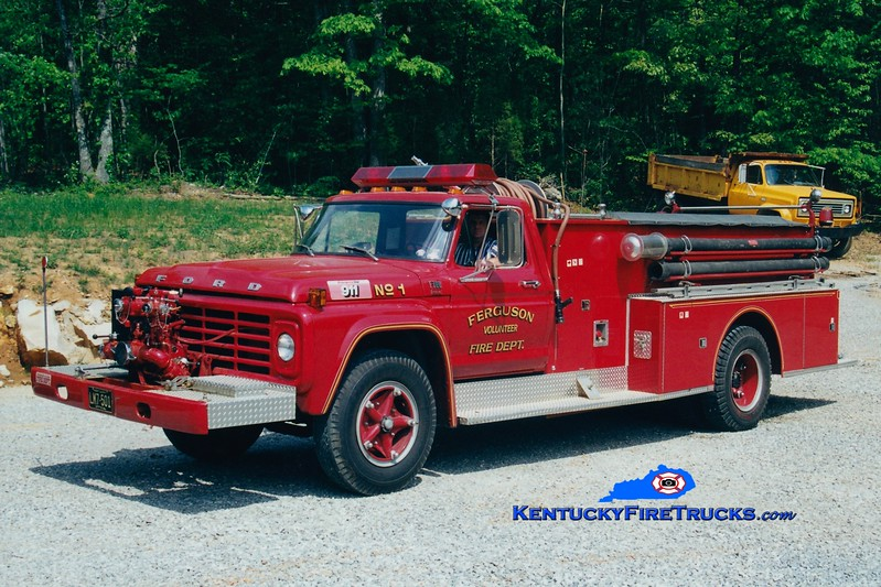 <center> RETIRED <BR> Ferguson Engine 31 <br> 1979 Ford F-700/American 750/500 <br> Greg Stapleton photo </center>