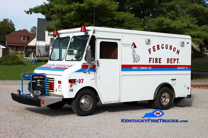 <center> Ferguson  Command 37 <br> 1986 Chevy/Grumman-Olson  <br> Kent Parrish photo </center>