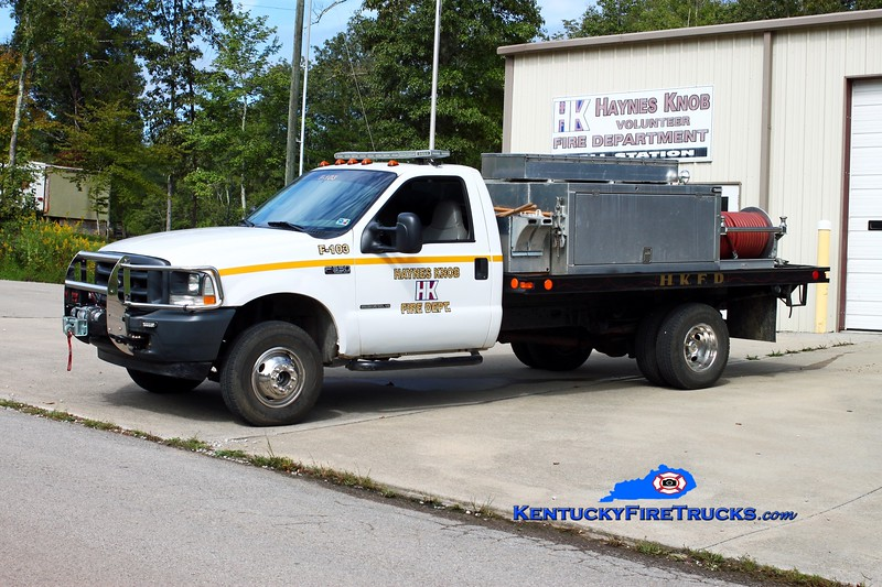 <center> Haynes Knob Brush 103 <br> *Rechassis <br> 2002 Ford F-350 4x4/Local 250/500 <br> Kent Parrish photo </center>