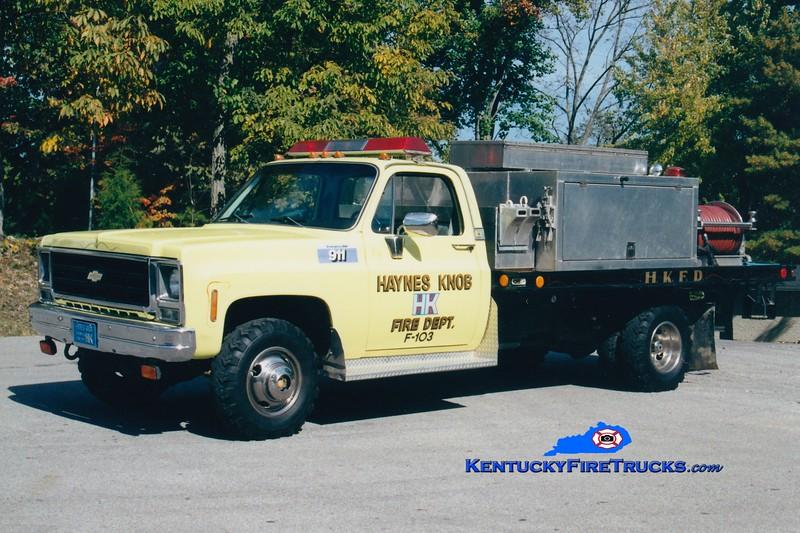 <center> Haynes Knob  Brush 103 <br> *Original <br> 1979 Chevy/Local 250/500 <br> Greg Stapleton photo </center>
