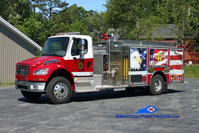 <center> Mt Victory  Engine 41 <br> 2011 Freightliner M2-106/Toyne 1250/1000/30 <br> Kent Parrish photo </center>