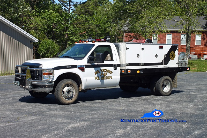 <center> Mt Victory  Brush 43 <br> 2007 Ford F-350 4x4/Local 250/250 <br> Kent Parrish photo </center>