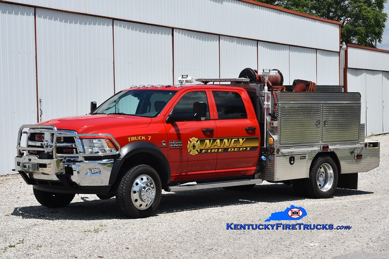 Nancy Rescue 7<br /> 2015 Dodge Ram 5500 4x4/2010 Wynn 250/300/CAFS<br /> Greg Stapleton photo