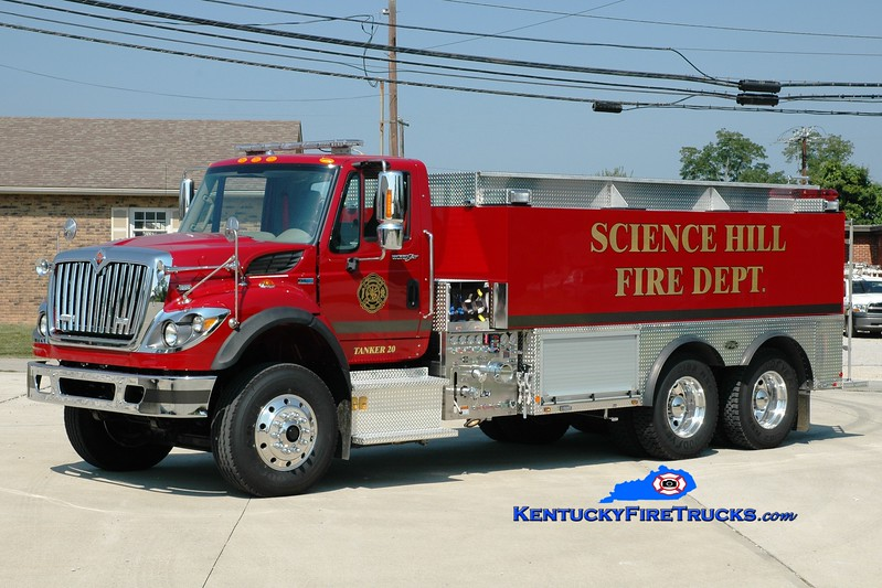 <center> Science Hill Tanker 20 <br> 2012 International 7500/Toyne 750/3000 <br> Greg Stapleton photo <br> </center>