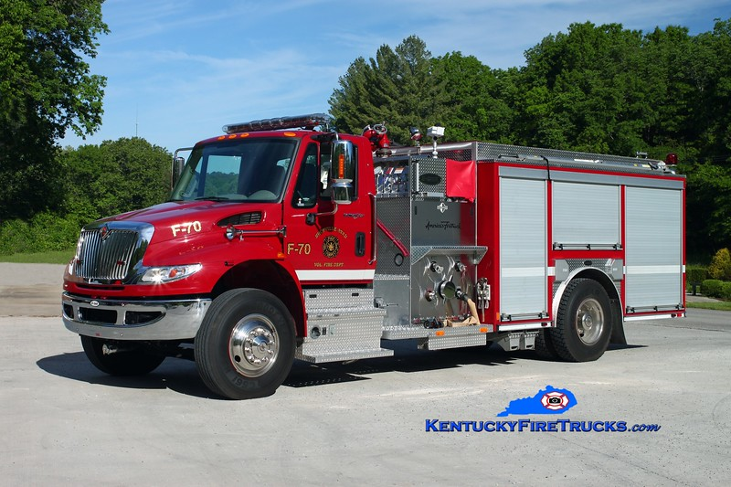 <center> Shopville-Stab  Engine 70 <br> 2011 International 4400/E-One 1250/1000/30 <br> Kent Parrish photo </center>