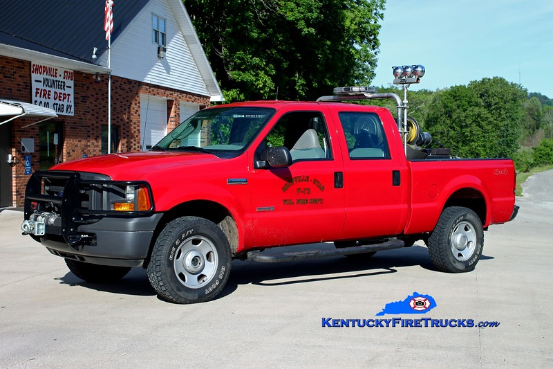 <center> Shopville-Stab  Brush 73 <br> 2005 Ford F-350 4x4/UPF 250/250 <br> Kent Parrish photo </center>