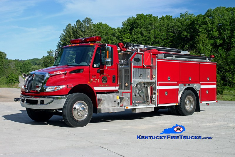 <center> Shopville-Stab  Engine 71 <br> 2006 International 4400/E-One 1250/1000/30 <br> Kent Parrish photo </center>