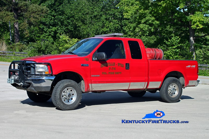 <center> Shopville-Stab  Brush 74 <br> 1998 Ford F-250 4x4/FD 250/250 <br> Kent Parrish photo </center>