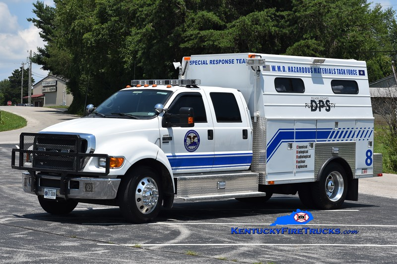 Somerset-Pulaski County Special Response Team  Unit 8<br /> 2005 Ford F-650/Stahl/2018 SRT Container Truck  <br /> Greg Stapleton photo