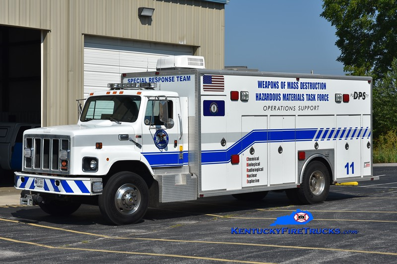 Somerset-Pulaski County Special Response Team  Unit 11<br /> x-Prince George's County, MD <br /> 1988 International S2600/SPI Hazmat Bulk Supply Unit  <br /> Greg Stapleton photo