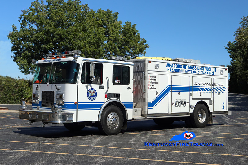 Somerset-Pulaski County Special Response Team  Unit 2<br /> x-Cypress Creek, TX<br /> 1991 Spartan Gladiator/Super-Vac Spill Response Unit <br /> Kent Parrish photo