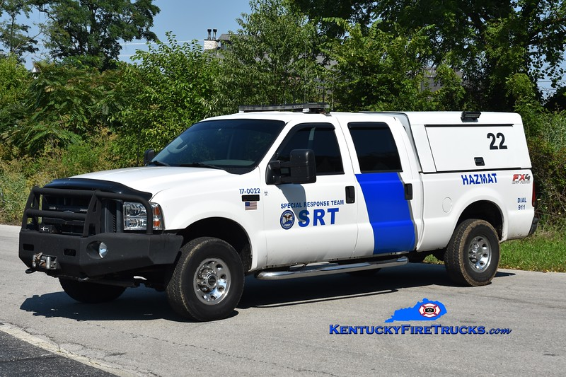 Somerset-Pulaski County Special Response Team  Unit 22<br /> 2003 Ford F-250/SRT Aerial Drone Support Unit   <br /> Greg Stapleton photo
