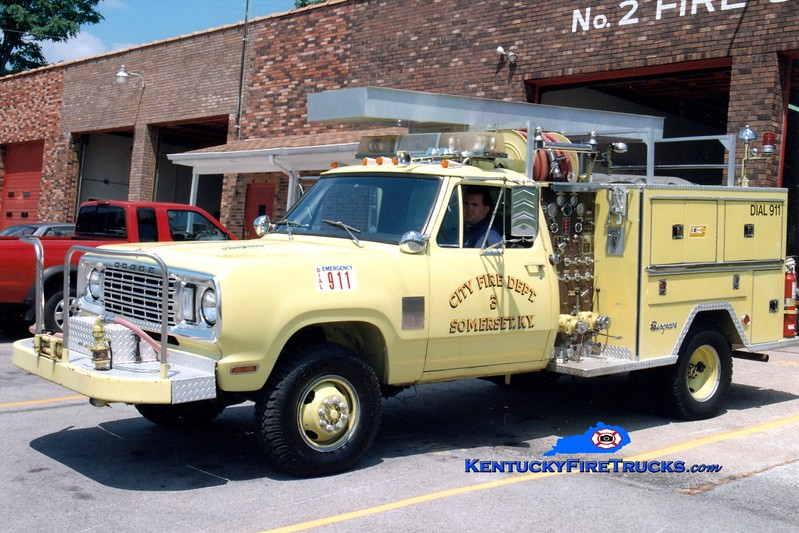 <center> RETIRED <br> Somerset  Engine 3 <br> 1977 Dodge 4x4/Seagrave 400/250 <br> Greg Stapleton photo </center>