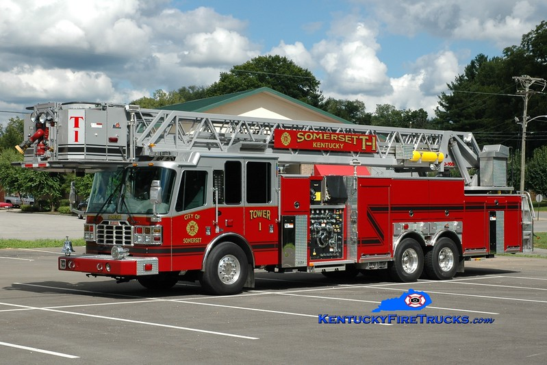 <center> Somerset  Tower 1 <br> 2006 Ferrara Inferno 2000/350/50/100' <br> Greg Stapleton photo </center>