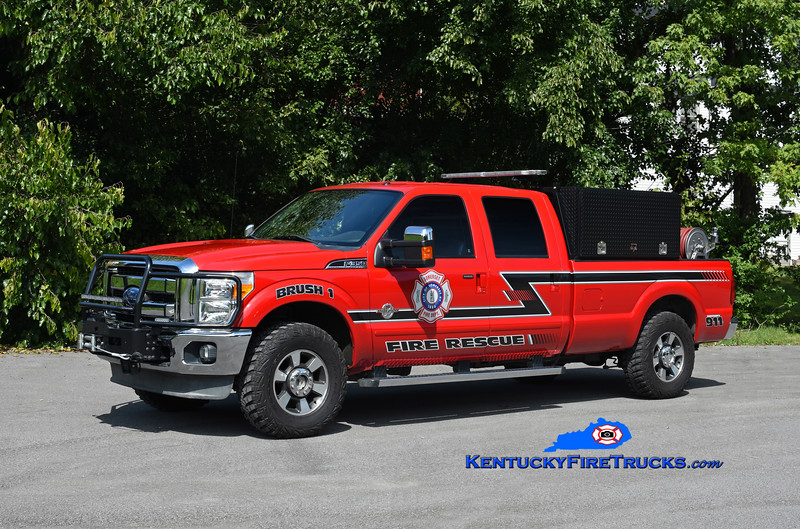 Somerset  Brush 1<br /> 2011 Ford F-350 4x4/CET 250/250<br /> Kent Parrish photo