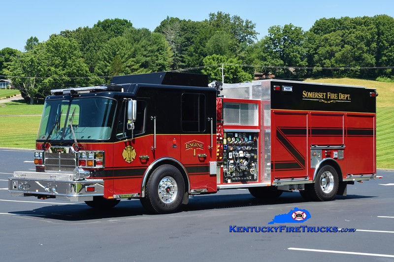 Somerset  Engine 1<br /> 2018 Ferrara Cinder 1500/900/30<br /> Greg Stapleton photo