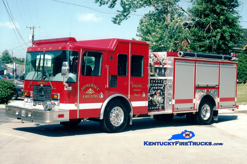 <center> Somerset  Engine 2 <br> 2003 HME/Ferrara Intruder 2 1250/1000/20 <br> Greg Stapleton photo </center>