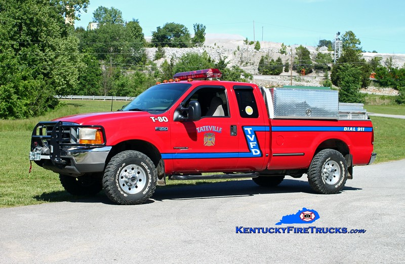 <center> Tateville  Brush 80 <br> 1998 Ford F-350 4x4/Wynn 250/200/5 <br> Kent Parrish photo </center>