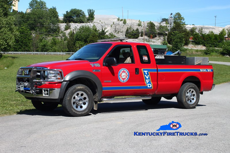 <center> Tateville  Brush 78 <br> 2005 Ford F-350 4x4/Wynn 250/200/5 <br> Kent Parrish photo </center>