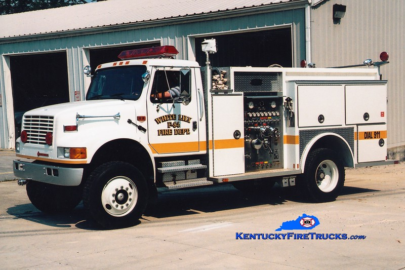 <center> White Lily  Engine 84 <br> 1981 Ford F/FMC 750/750 <br> Greg Stapleton photo </center>
