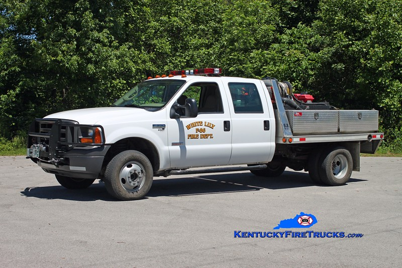 <center> Tateville  Brush 86 <br> 2005 Ford F-350 4x4/FD 250/250 <br> Kent Parrish photo </center>
