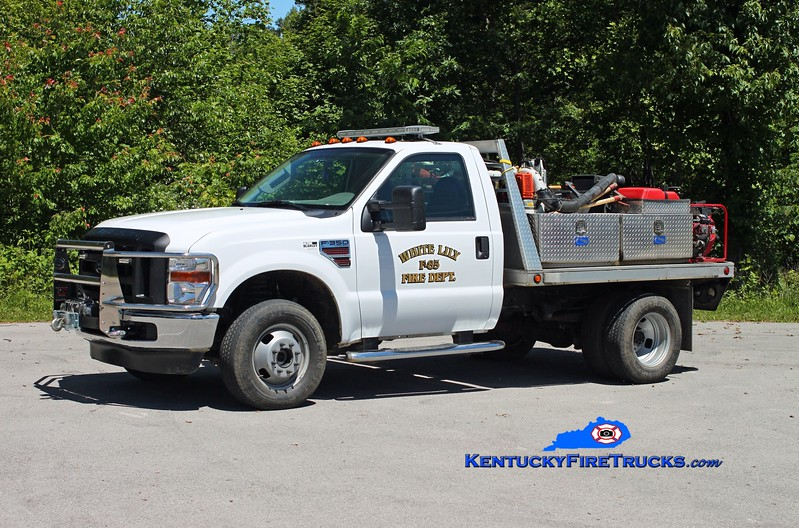 <center> Tateville  Brush 85 <br> 2008 Ford F-350 4x4/FD 250/250 <br> Kent Parrish photo </center>
