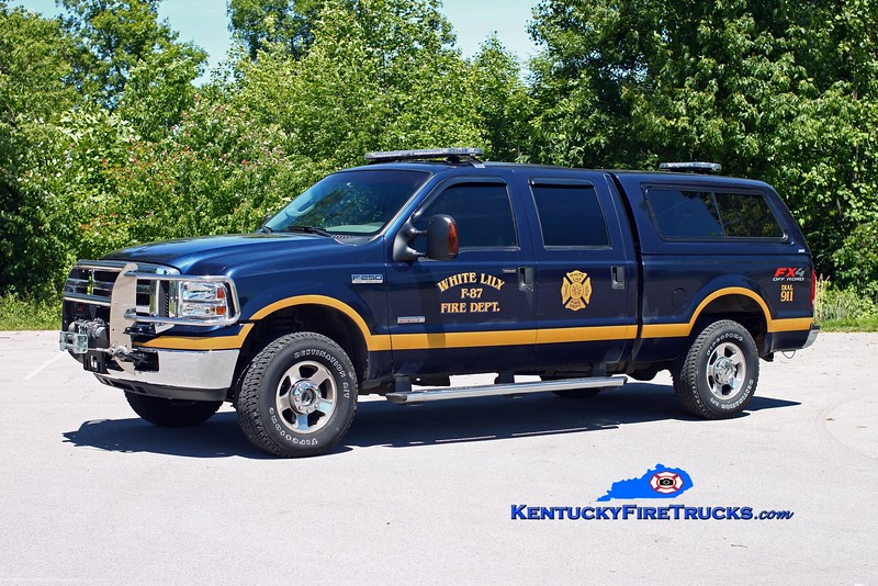<center> Tateville  Truck 87 <br> 2005 Ford F-250 4x4 <br> Kent Parrish photo </center>
