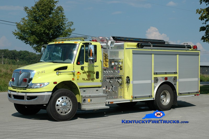 <center> Woodstock  Engine 91 <br> 2009 International 4400/E-One 1250/1250 <br> Greg Stapleton photo </center>