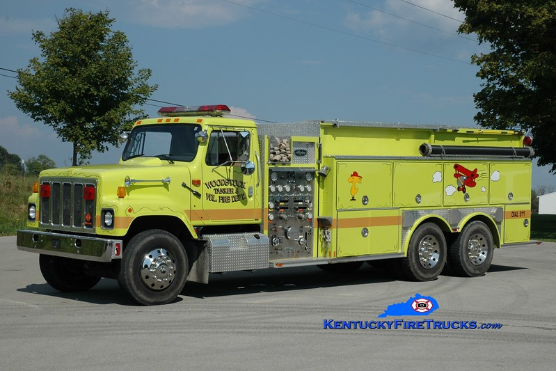 <center> Woodstock  Engine 8 <br> 1992 International/Allegheny 1250/2500 <br> Greg Stapleton photo </center>